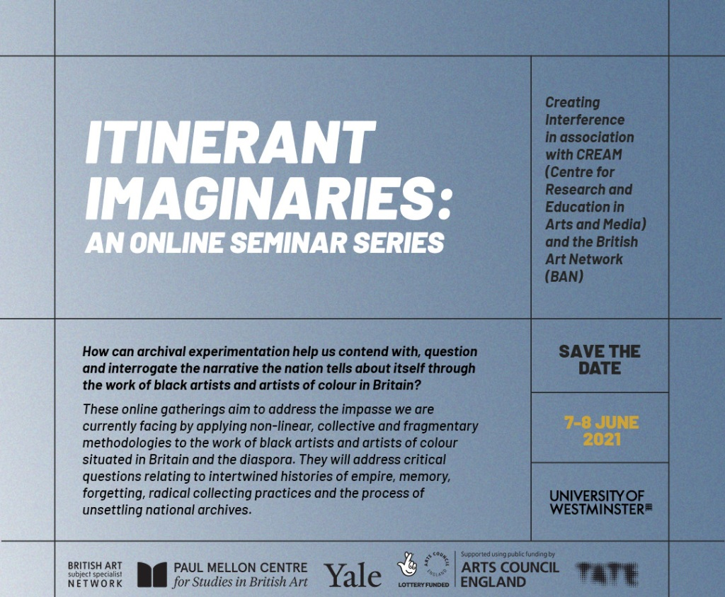 Itinerant Imaginaries: an online event series